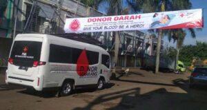 Donor Darah Serentak Di Tiga Kota